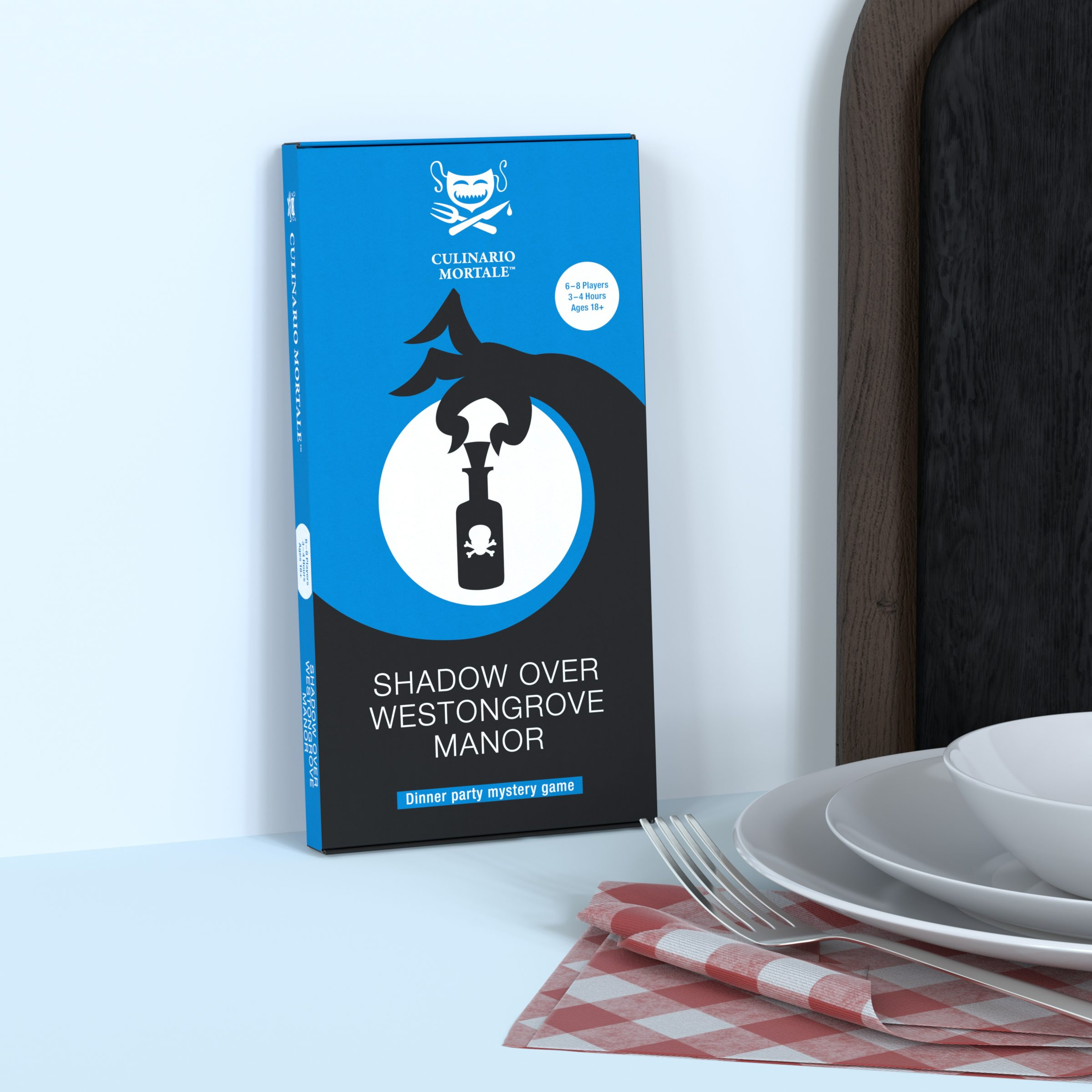 "Murder mystery game ""Shadow over Westongrove Manor"""